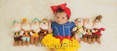 Newborn Snow White Disney princess photography