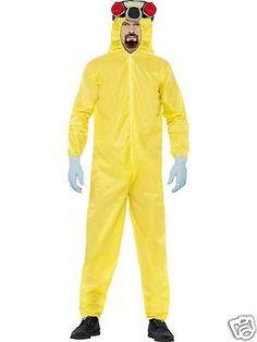 #Breaking bad costume #yellow hazmat walter white heisenberg #fancy dress l 42-44,  View more on the LINK: http://www.zeppy.io/product/gb/2/232222619253/