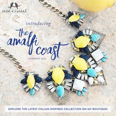 New arrivals! Introducing The Amalfi Coast, featuring summertime sparkle, lemon-yellow favorites, + more!