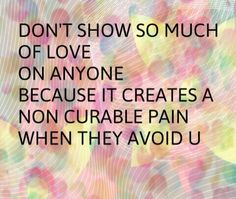 Show equal love to everyone!
