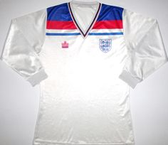 THE classic England shirt. They used to sell them in BHS. Wish I still had mine. Wish Keegan hadn't put that header wide. Classic Football Shirts, Vintage Football Shirts, Vintage Shirts, England Shirt, International Teams, Retro Vintage, Polo Ralph Lauren, Soccer, Header