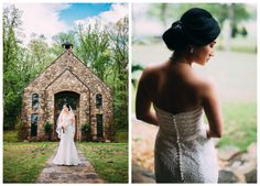 HyeJin Son and Brandon Grant were married May 17, 2014 at Brandon's parents' home in Caddo Gap, Ark. Here are some of the beautiful bridals Taylor Howard Photography took at St. John's Chapel before the wedding!