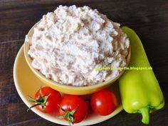 Raspberrybrunette: Nátierka na chuťovky a chlebíčky Sandwich Fillings, Czech Recipes, Tzatziki, Raspberry, Salads, Sandwiches, Good Food, Lunch Box, Food And Drink