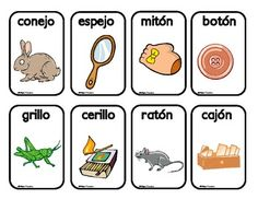Juego de las Rimas - 136 cards, wow!  These are great to help developing Spanish readers see larger word chunks and develop fluency.