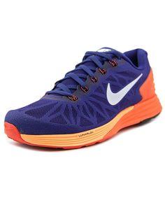NIKE NIKE LUNARGLIDE 6 MEN ROUND TOE SYNTHETIC BLUE RUNNING SHOE'. #nike #shoes #sneakers