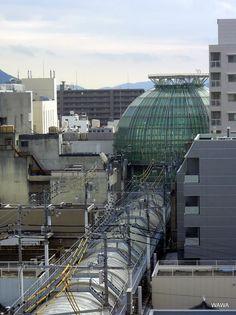 """""""MARUGAME DOME"""" Hyogo-Machi Shopping Mall (丸亀町ドームと兵庫町商店街、高松中央商店街)"""