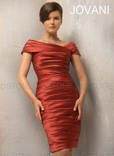 Vestido Curto em Cetim Drapeado e Manguinha Laine 230425 : Dstore Miami, Vestidos de Festa Importados