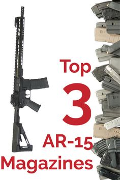 Pick up one of these popular and top performing AR-15 magazines for your next trip to the range. These AR15 magazines are durable and well built to handle thousands of rounds and trip after trip to the range.