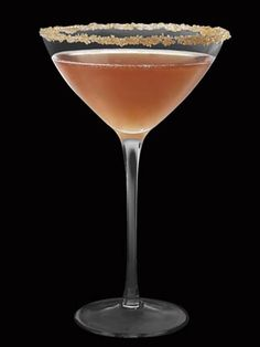 2 oz. Hennessy VS 1 oz. Grand Marnier 1 oz. fresh lemon juice Shake and strain in a sugar-rimmed cocktail glass.   - MarieClaire.com