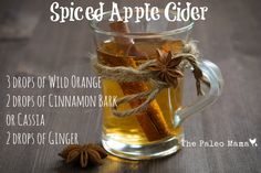 Spiced Apple Cider D