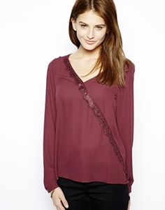 Only Fina Long Sleeve Blouse Latest Outfits, Latest Fashion Clothes, Fashion Outfits, Asos Online Shopping, Women Wear, Tunic Tops, Blouses, Long Sleeve, Sleeves