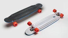 Loaded Chubby Unicorn longboard skateboard, Deck Only