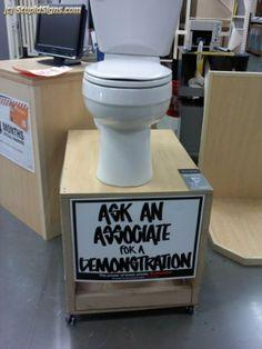 demonstration???