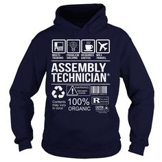 Awesome Tee For Assembly Technician T-Shirts, Hoodies. BUY IT NOW ==► Funny Tee Shirts