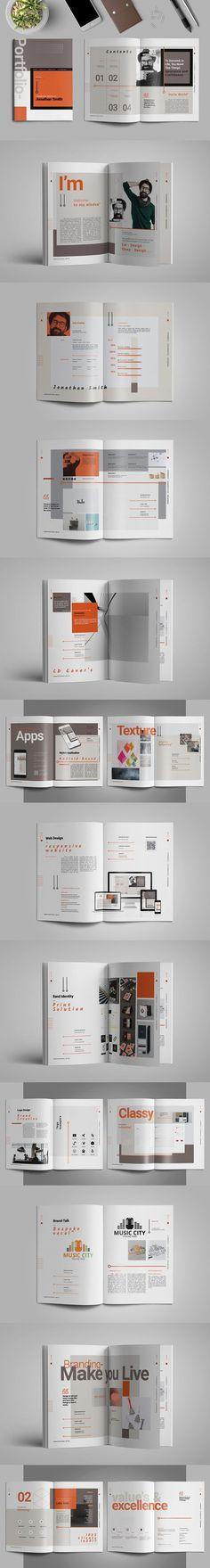 Portfolio. Brochure Templates
