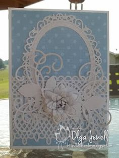 Heartfelt Creations and Spellbinders Hand Made Greeting Cards, Making Greeting Cards, Greeting Cards Handmade, Shabby, Heartfelt Creations Cards, Card Making Designs, Baby Shower Invitaciones, Spellbinders Cards, Marianne Design