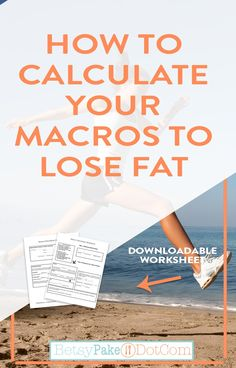 How To Calculate Your Macros To Lean Out