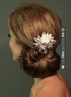 Awesome! - Hair pin | CHECK OUT MORE GREAT WEDDING HAIRSTYLES AND WEDDING HAIRSTYLE IDEAS AT WEDDINGPINS.NET | #weddings #hair #weddinghair #weddinghairstyles #hairstyles #events #forweddings #iloveweddings #romance #beauty #planners #fashion #weddingphotos #weddingpictures