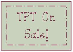 TPT On Sale Boards!