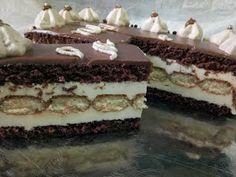Hellena ...din bucataria mea...: Tort cu mousse de ciocolata alba - insiropat cu ciocolata calda Tiramisu, Mousse, Cheesecake, Ethnic Recipes, Desserts, Food, Pies, Tailgate Desserts, Deserts