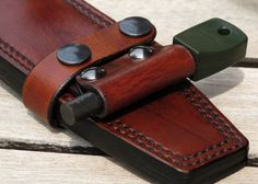 leather horizontal sheath for F1