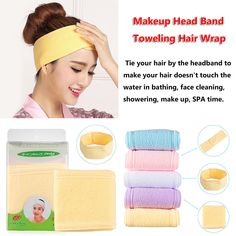 Bath & Shower Inventive Bathing Turban Pink Soft Adjustable Women Elastic Wash Face Makeup Spa Stretch Hair Band Headband Accessories For Girls Women 2019 Latest Style Online Sale 50% Beauty & Health