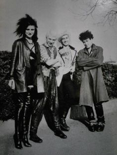 Siouxsie & The Banshees from kewpiedoll on tumblr