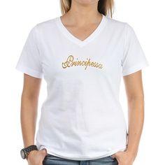 PRINCIPESSA - Women's V-Neck T-Shirt