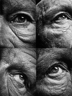 Sandro Miller: Bill Brandt / Eyes (1960-1964) (A), 2014<br>Bill Brandt / Eyes (1960-1964) (B), 2014<br>Bill Brandt / Eyes (1960-1964) (C), 2014<br>Bill Brandt / Eyes (1960-1964) (D), 2014