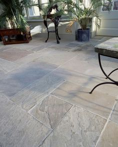 pavestone finesse 'oxford' natural stone floor tiles. great with