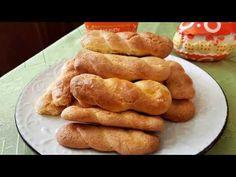 Αφράτα και τραγανά πασχαλινά κουλουράκια!!! - YouTube Greek Sweets, Easter Cookies, Greek Recipes, Hot Dog Buns, Sausage, Food And Drink, Bread, Make It Yourself, Baking