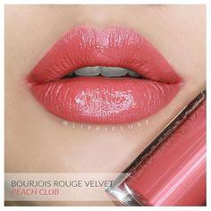 Bourjois Rouge Velvet Edition No.4: Peach Club