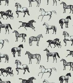 p-13436-papel-pintado-con-caballos-negros Horse Print, Home Wallpaper, Color Negra, Print Patterns, Horses, Black And White, Bedroom Inspiration, Art, Black Horses
