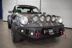 Porsche 911 Carrera 'Safari' Rally Car | HiConsumption