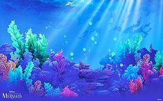mermaid backdrop - Google Search