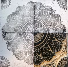 I have a thing for Mandalas. I became enamored with them about 14 years ago when one of my close friends starting incorporating them into her art making. She believes that they have mystical powers…