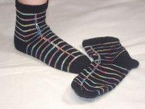 Fashion Socks Gr. 38/39 schwarz