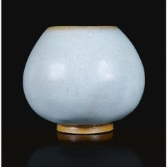 A 'jun' lotus bud waterpot. Song dynasty. photo Sotheby's
