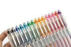 Pentel Slicci Gel Ink Pen - 0.25 mm http://www.jetpens.com/Pentel-Slicci-Gel-Ink-Pens-0.25-mm/ct/379