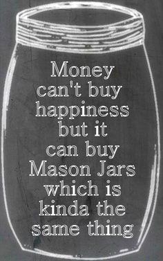 Love mason jars