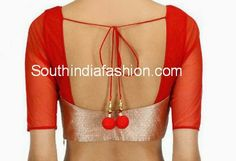 latest sari blouse patterns