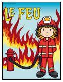 Le feu, activités pour enfants avec fiches imprimables.