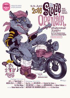 Michel Casarramona Stolzen Openair, realistisch, Poster, geilo http://www.casarramona.ch/