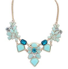 Elegant Women's Flower Necklace $10.99 www.missmolly.com.au #missmollyau #accessories #necklaces #jewellery #pendants #fashion #womensfashion