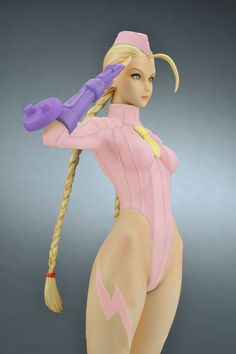 Capcom Girls Collection Street Fighter ZERO Cammy Pink ver. Complete Figure