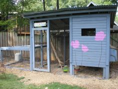 Colorful and Recycled Coop