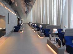 Qatar Airways Al Mourjan Business Class Lounge Doha Airport