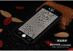 Slim Shockproof Hybrid Rubber Waterproof Soft Silicone TPU Touch Cover Cases for Iphone 7, 7plus