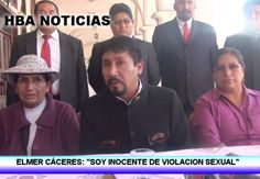 """VIDEO. Elmer Cáceres a joven que lo acusa de violación: """"Te sigo amando y te perdono"""" http://hbanoticias.com/10827"""