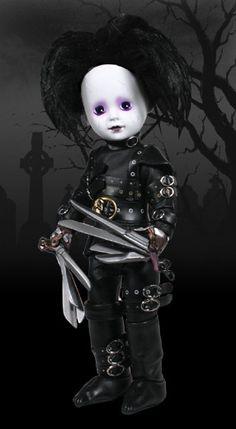 living dead dolls | LDD Presents: Edward Scissorhands - Living Dead Dolls HE'S ADORABLE
